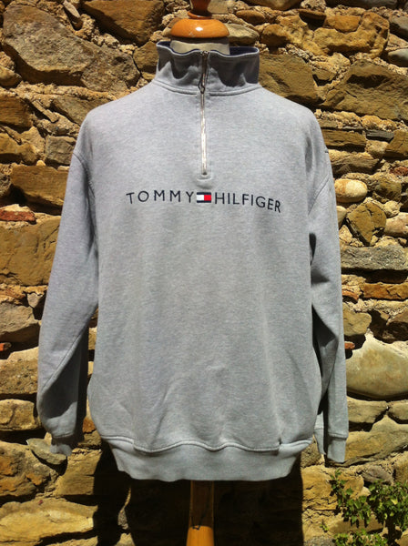 Tommy Hilfiger spellout 1/4 Sweater
