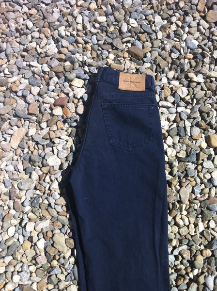 "Navy Blue CK Trousers (29"")"