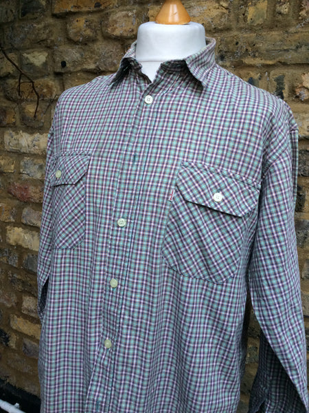 Vintage checked Levi's Shirt (M/L)