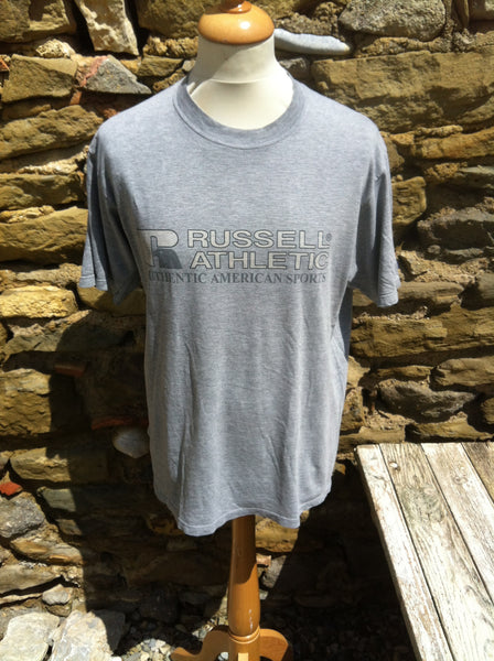 Vintage Stone Wash Russell Athletic American Sports Top