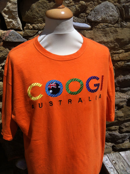 Orange Coogi, Origins Top