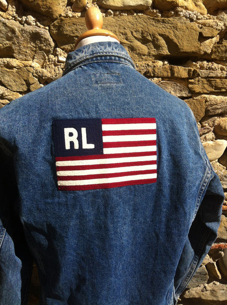 Classic Ralph Lauren Polo Jeans denim Jacket