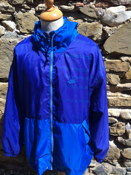 Purple & Blue Nike Fitness Windbreaker
