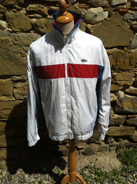 vintage sectioned Lacoste Track Jacket