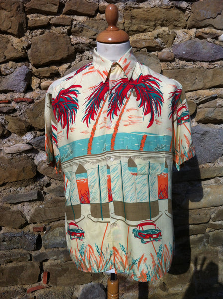 Wesley Palm Tree Shirt (M)