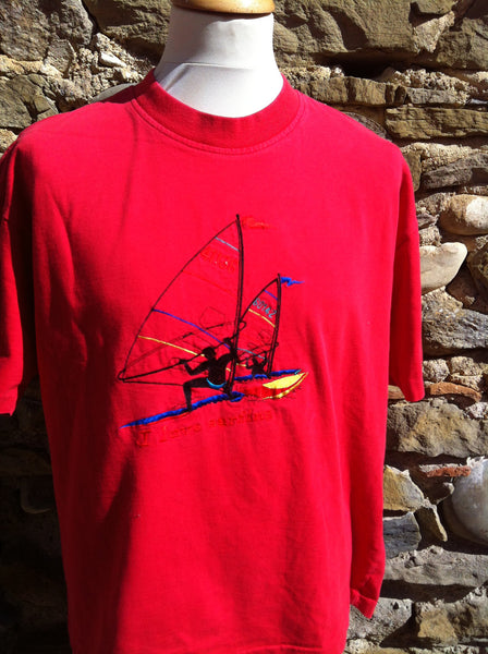 Red Surfing Hugo Boss Top