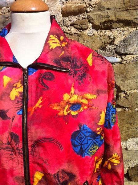 Vintage Tropical Floral Light Jacket