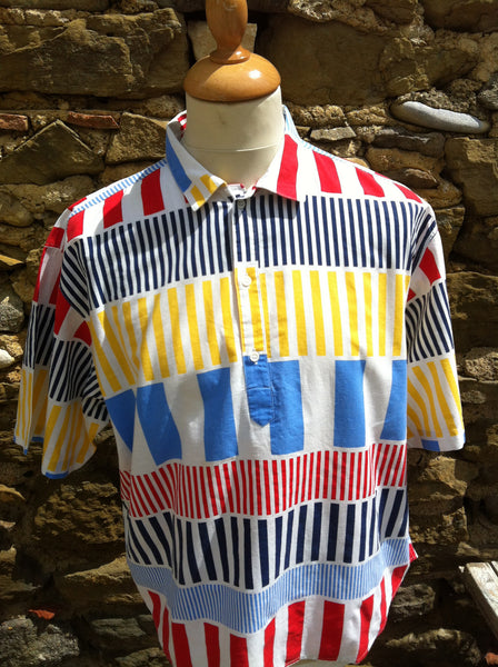 Vintage Nautical Striped Lee Cooper Shirt