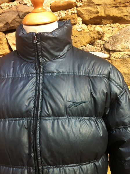 Vintage Reebok Duck Down Puffer Jacket
