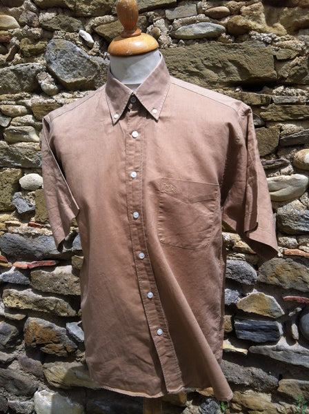 Brown Burberry Short sleeve (M)