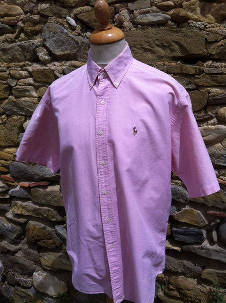 Natural Toned Pink Polo Shirt (L/XL)