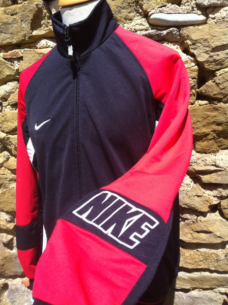 Vintage red and black Nike Jacket