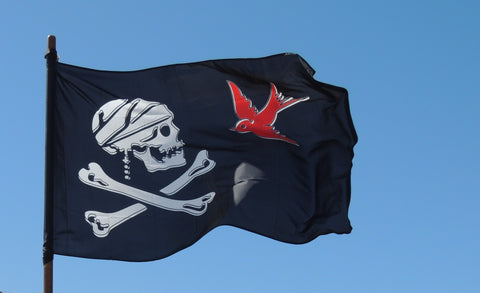 étendard pirate