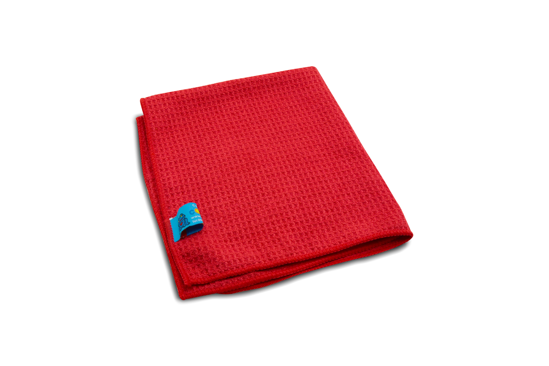 Heavy Duty Microfibre Cloth Red Multi Purpose 40x45 cm