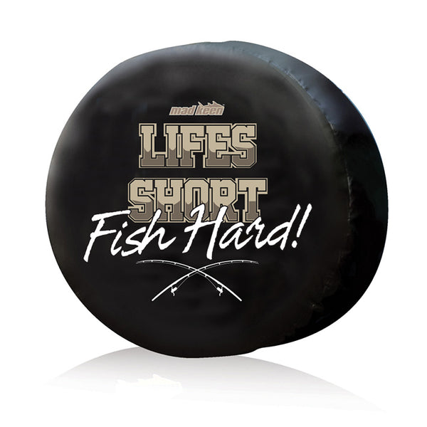 Life's Short Fish Hard Wheel Cover Deal