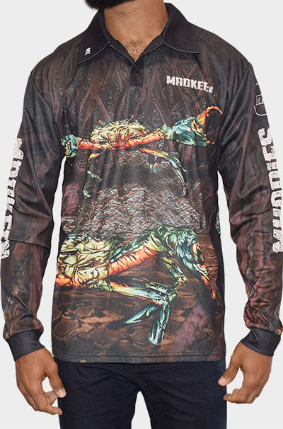 Muddies Long Sleeve Polo