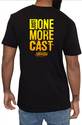One More Cast Short Sleeve Tee