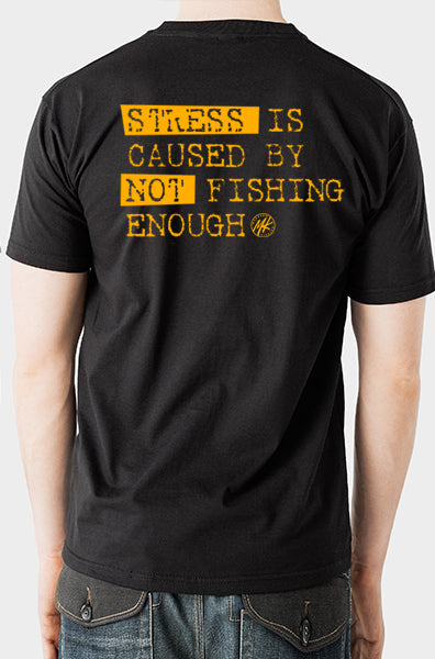 Stress is caused Short Sleeve Tee