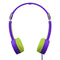 Maxell KZ-13 KIDS Small Foldable Headphones - Purple