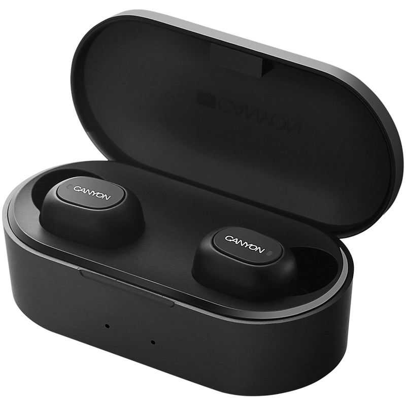 Canyon Truly Wireless Earphones with Charging Case