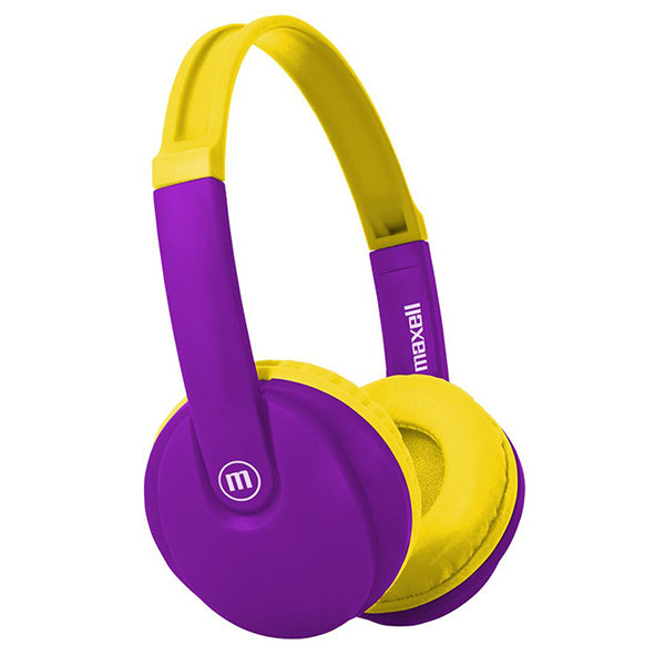 Maxell HP-BT350 Bluetooth KIDZ Small Headphones - Purple