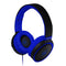 Maxell HP-B52 Full size Headphone with Microphone - BLACK/BLUE