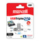 Maxell 128GB Triple-OTG USB Flashdrive - USB Type A, Micro-USB and Type C