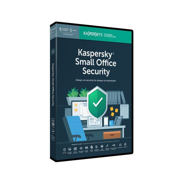 Kaspersky Office Security - 5 Workstations and 1 File Server