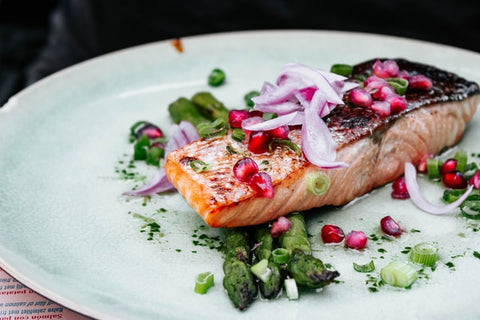 Salmon for stress and anxiety.