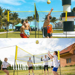 Quad Square Volleyball Net