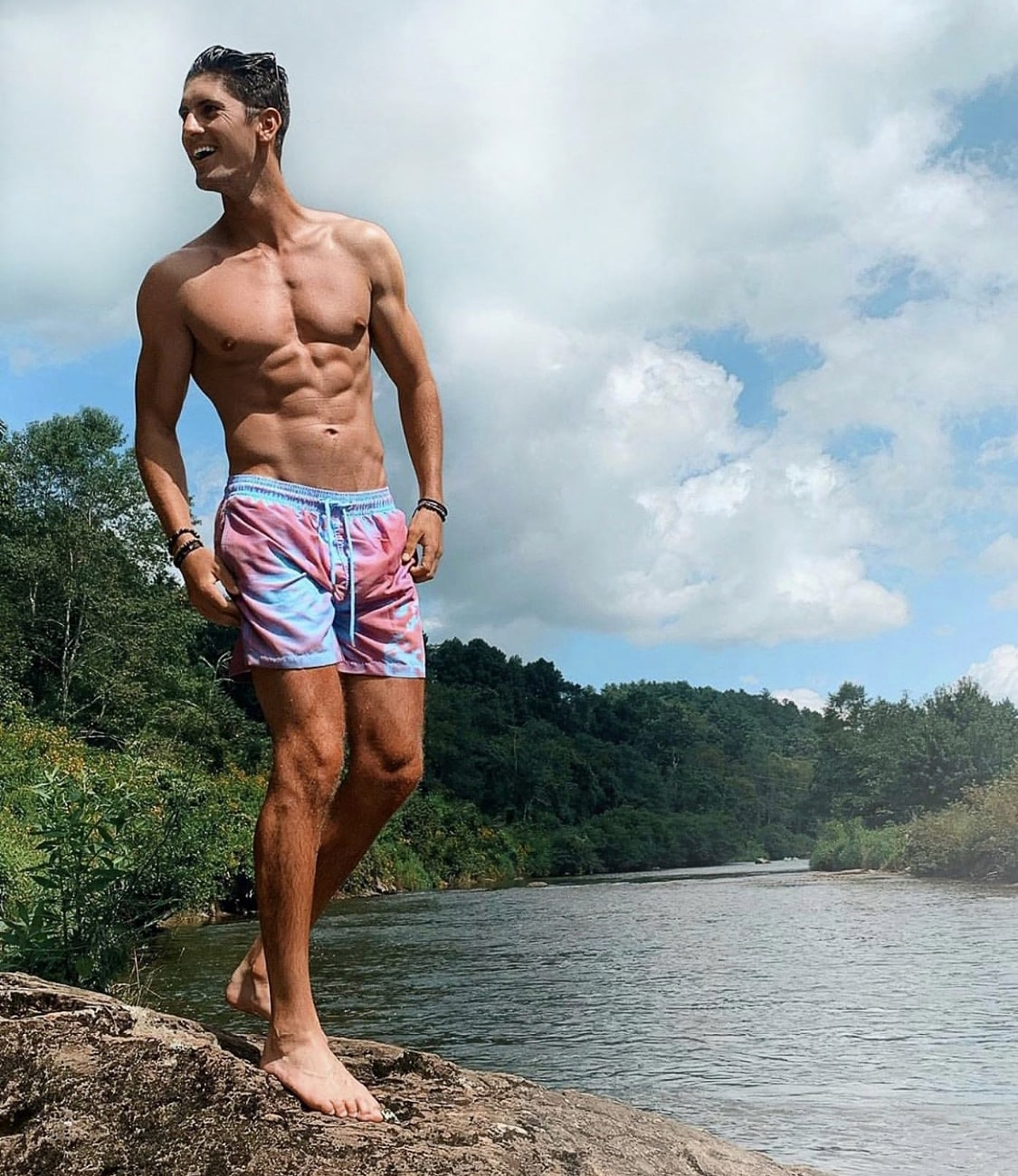 Color Changing Swimming Shorts Trunks