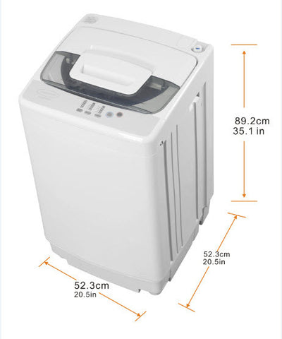 5.5 kg 12 lbs 1.7 cb ft Portable Washer