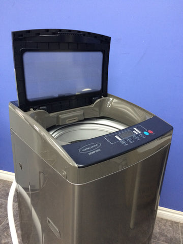 23 lbs 3.0 cb. ft. Portable Washer - Decent PCM Steel Body