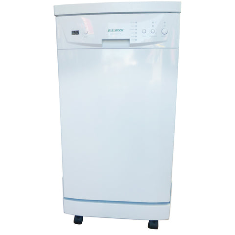 "SOLOROCK 18"" White Portable Dishwasher - shipping included"