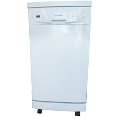 "SOLOROCK 18"" White Portable Dishwasher"