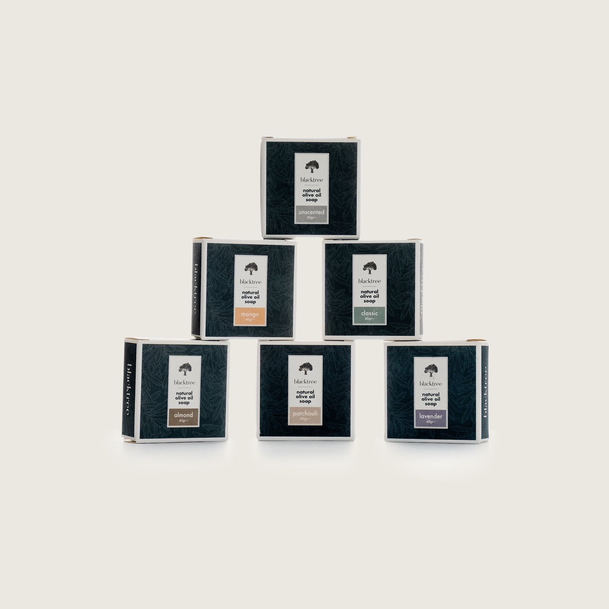 Blacktree Welcome Package - 6x40gr - Free Shipping in NL! - Blacktree Naturals