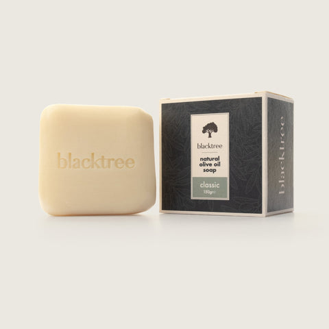 Natural Olive Oil Soap - Classic - 150gr (Stone Soap) - Blacktree Naturals