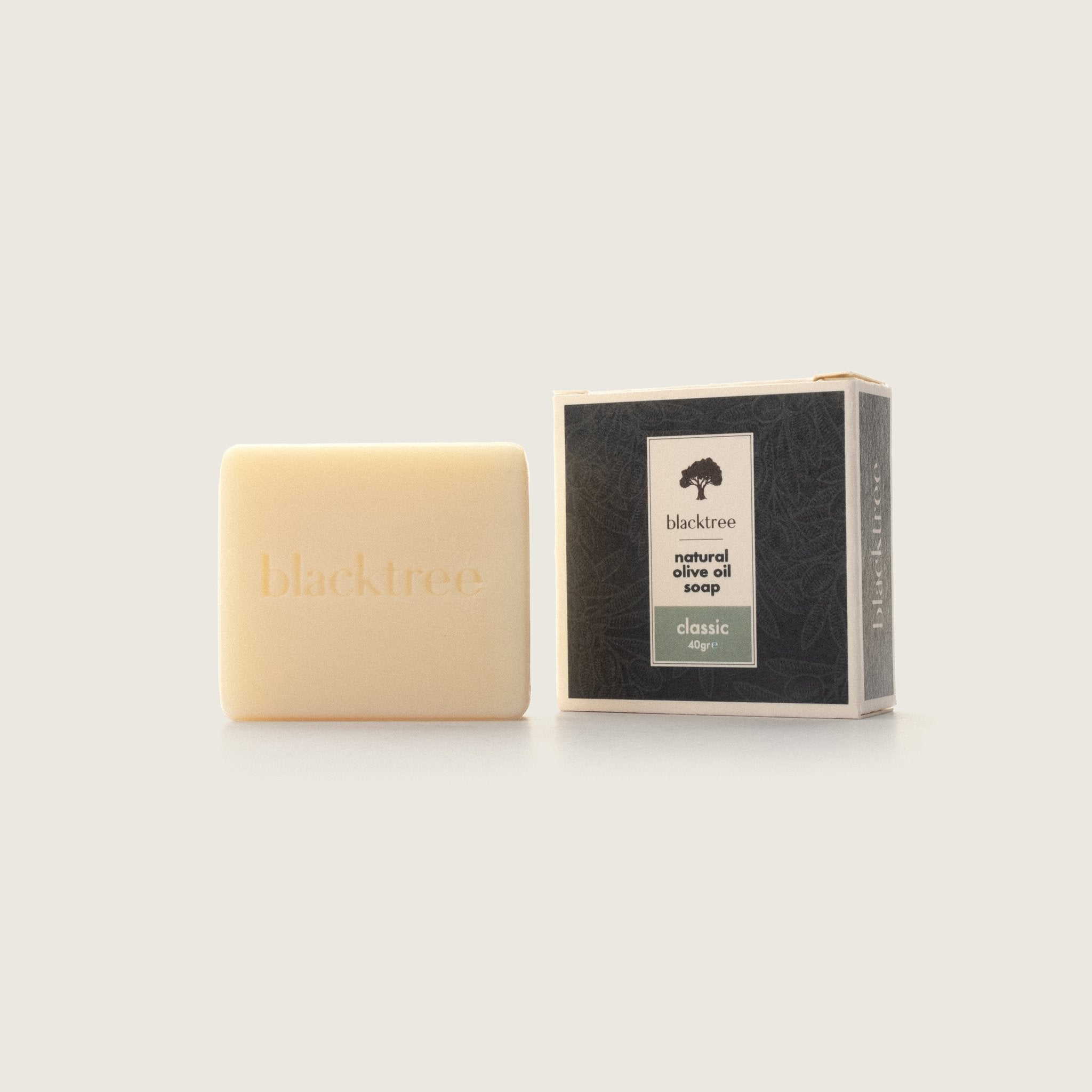 Natural Olive Oil Soap - Classic - 40gr (Bar Soap) - Blacktree Naturals