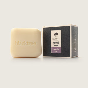 Natural Olive Oil Soap - Lavender - 150gr (Stone Soap) - Blacktree Naturals