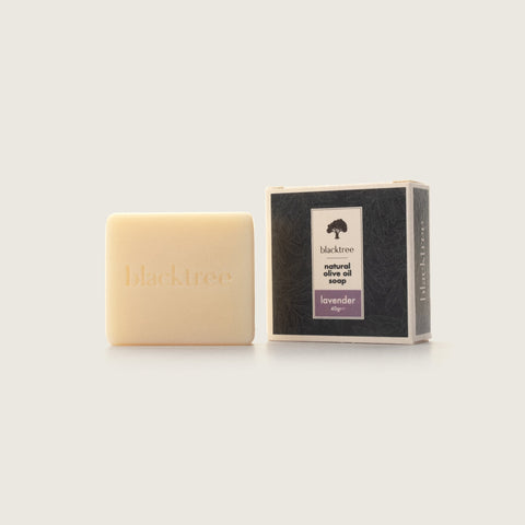 Natural Olive Oil Soap - Lavender - 40gr (Bar Soap) - Blacktree Naturals
