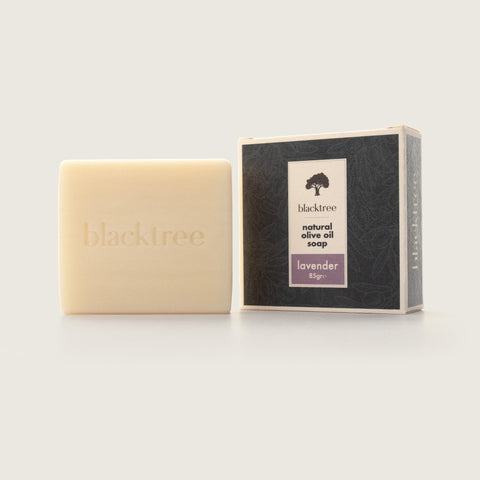 Natural Olive Oil Soap - Lavender - 85gr (Bar Soap) - Blacktree Naturals