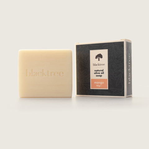 Natural Olive Oil Soap - Mango - 85gr (Bar Soap) - Blacktree Naturals