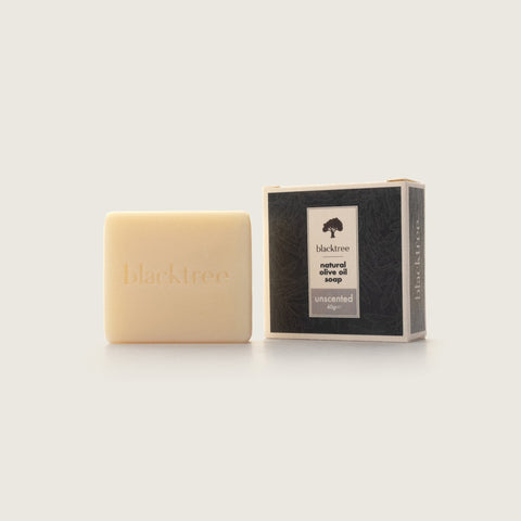 Natural Olive Oil Soap - Unscented - 40gr (Bar Soap) - Blacktree Naturals