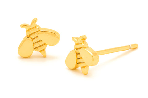 Gorjana Gold Honey Bee Stud Earrings -  - 1