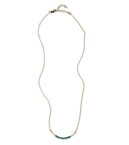 By Boe Curved Wand Thread Necklace -