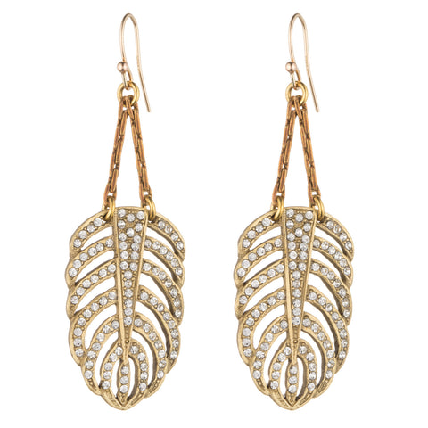 Lulu Frost Gold Drift Earrings
