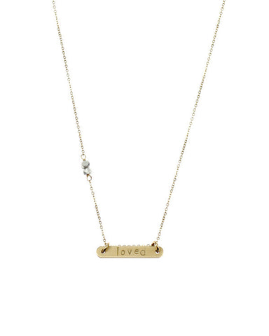 Nashelle Identity Bar Necklace -  - 1