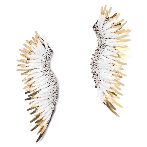 Mignonne Gavigan Madeline Earrings in White