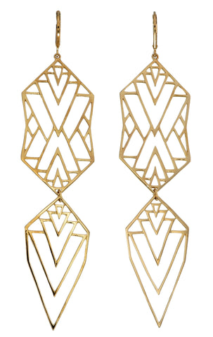Zoe and Morgan Misfit Earrings