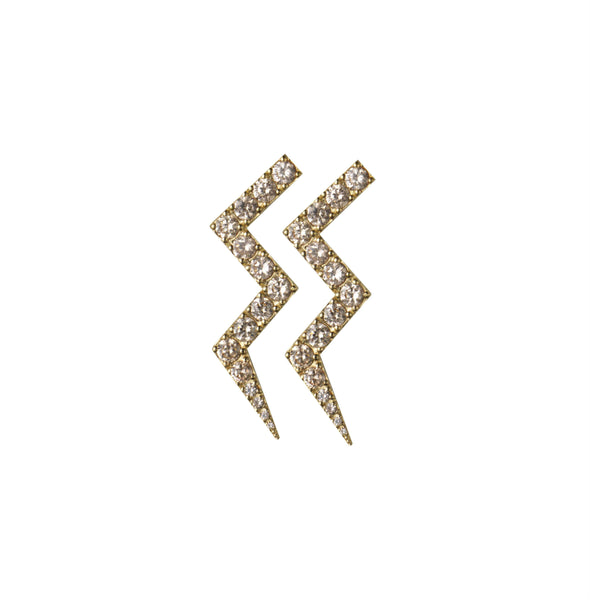 Rosie Fortescue Crystal Heartbeat Earrings
